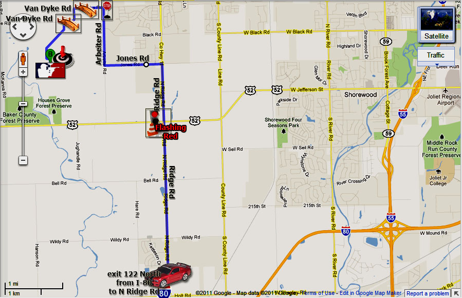 Driving Directions Minooka Exit